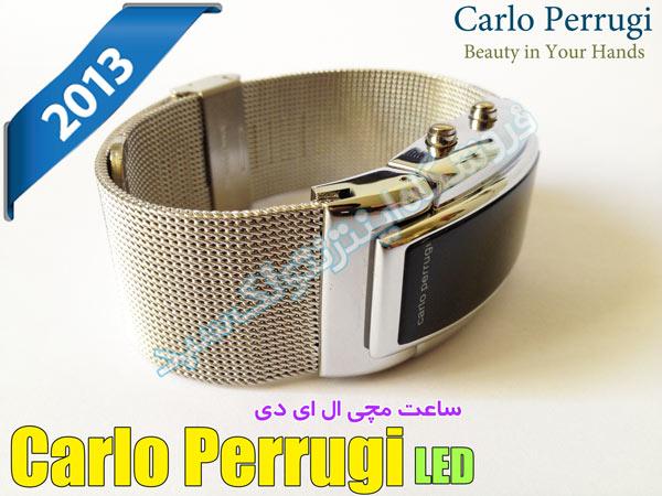خرید ساعت LED Carlo Perrugi