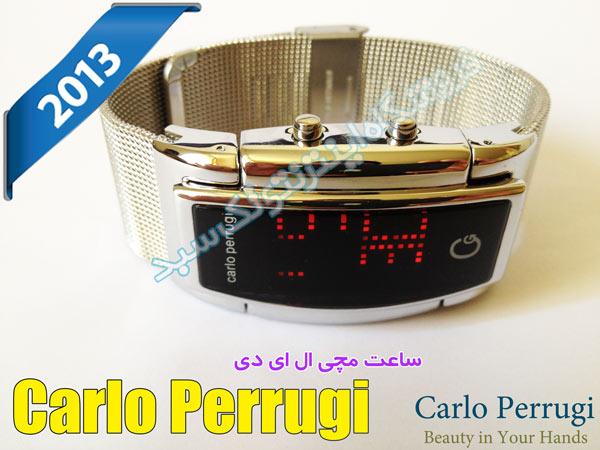 خرید ساعت led کارلو پروجی