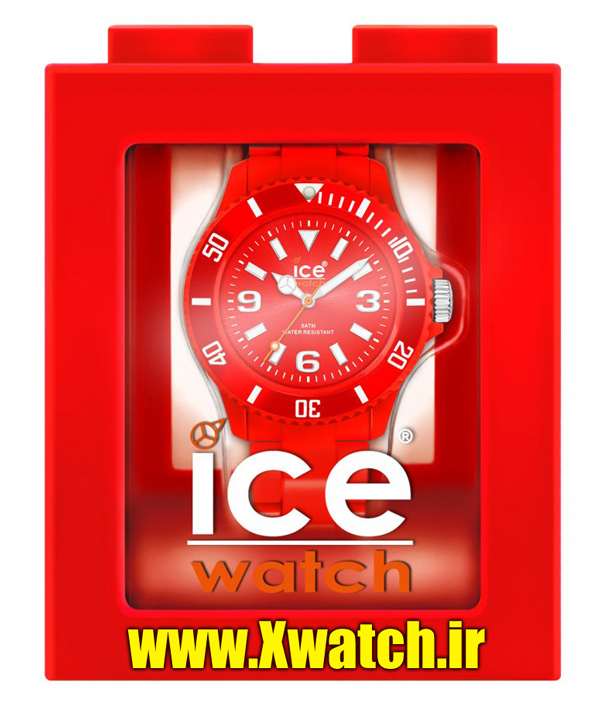 ساعت ICE WATCH قرمز
