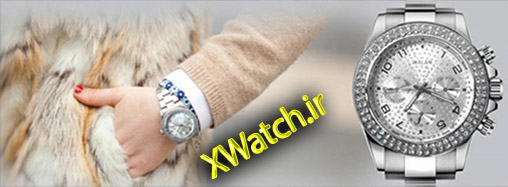 ساعت مچی طرح دار Rolex